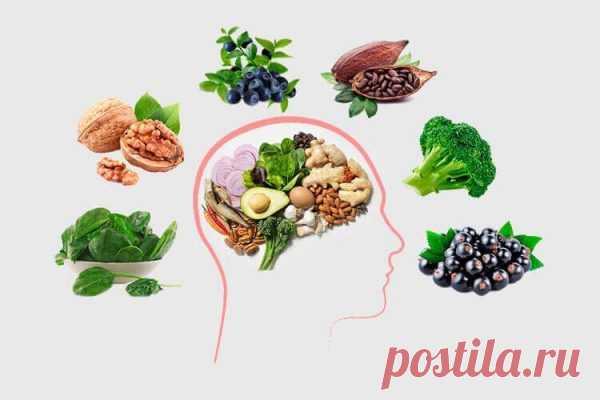 Укрепляем сосуды головного мозга: 5 главных продуктов.