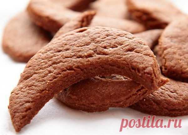Шоколадно-кофейное печенье » Кулинарные рецепты
