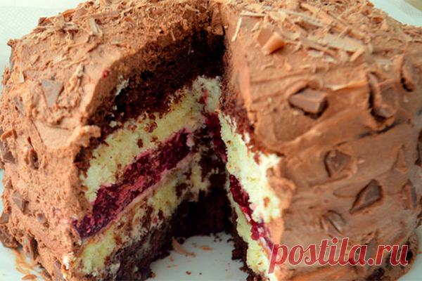Многослойный торт «Мишель»: совсем несложный, но очень вкусный!