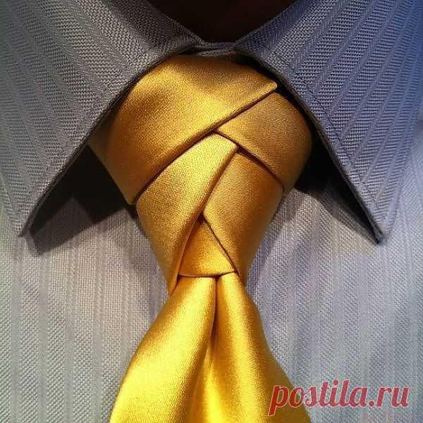 Узел Элдриджа (DIY) / Мужская мода / Модный сайт о стильной переделке одежды и интерьера