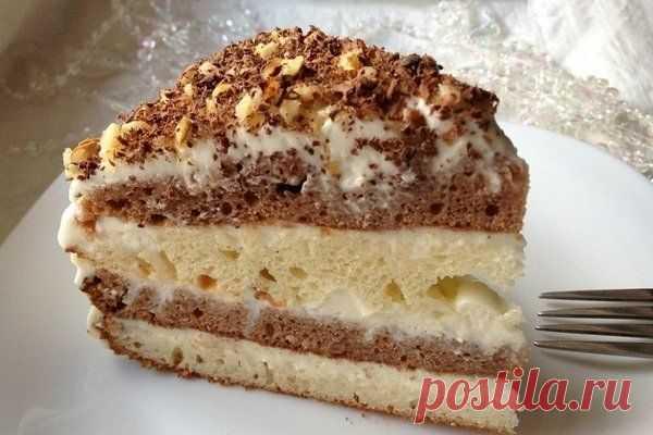 Готовим сегодня тортик на кефире. Такой легкий и очень вкусный. Рукоделие для счастья и души  Ингредиенты: Тесто: Показать полностью…