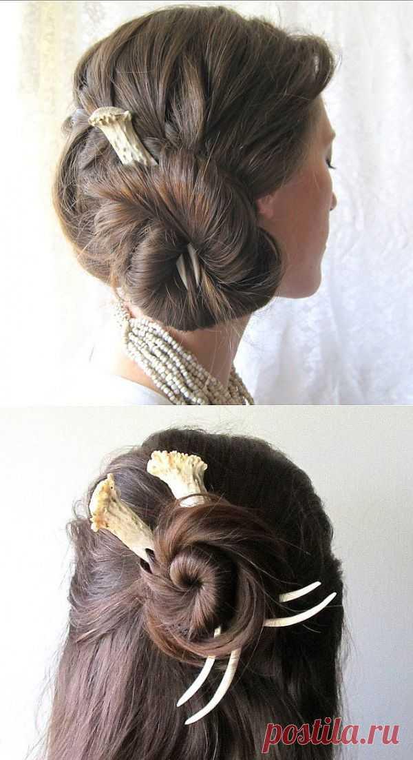 Дикие, но симпатичные / Украшения для волос / Модный сайт о стильной переделке одежды и интерьера