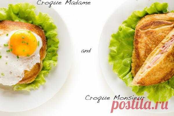 Идеальный завтрак для нее и для него ;)