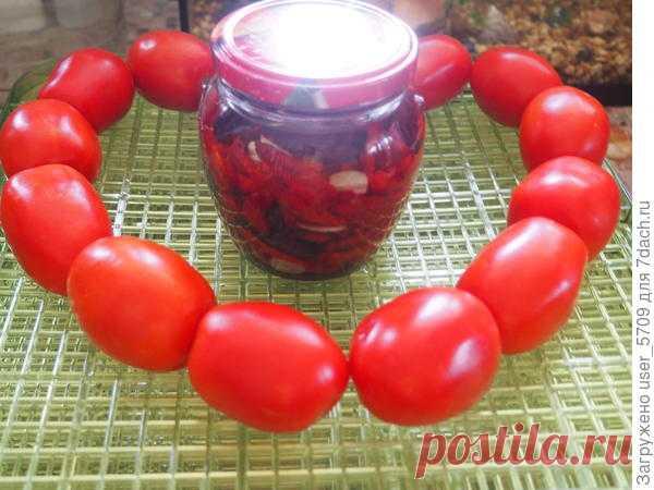 Вкусная заготовка - вяленые томаты в пряном масле