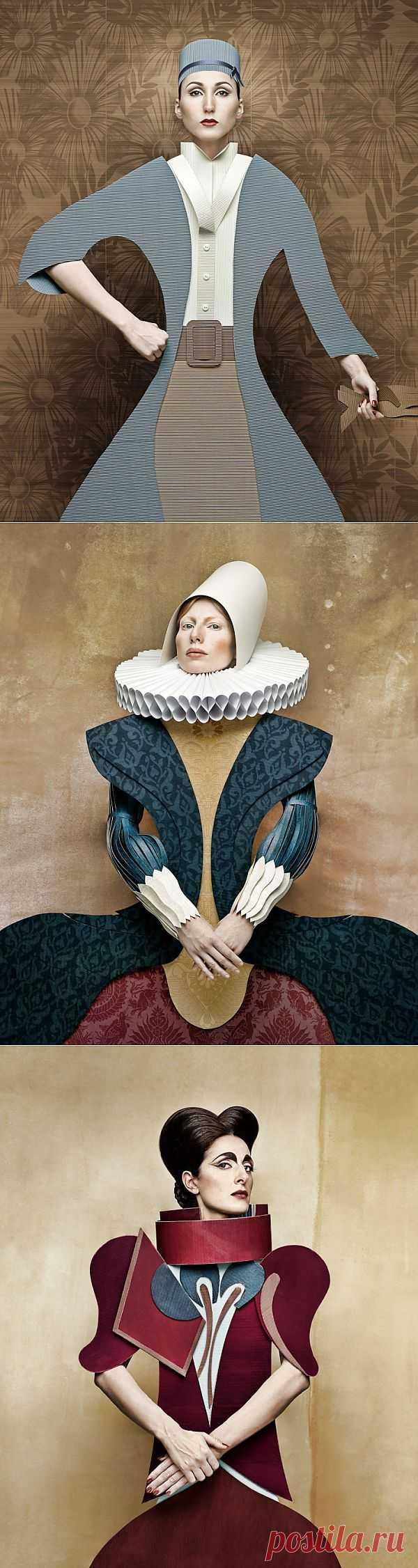 Картонная одежда / Фото (идеи съемок) / Модный сайт о стильной переделке одежды и интерьера