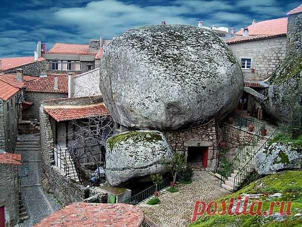 Дома из камня и в камне. Потрясающий город Монсанто http://s30087890855.mirtesen.ru/blog/43100212305