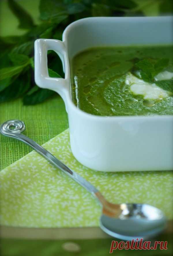Рецепт от Белоники: суп с мятой