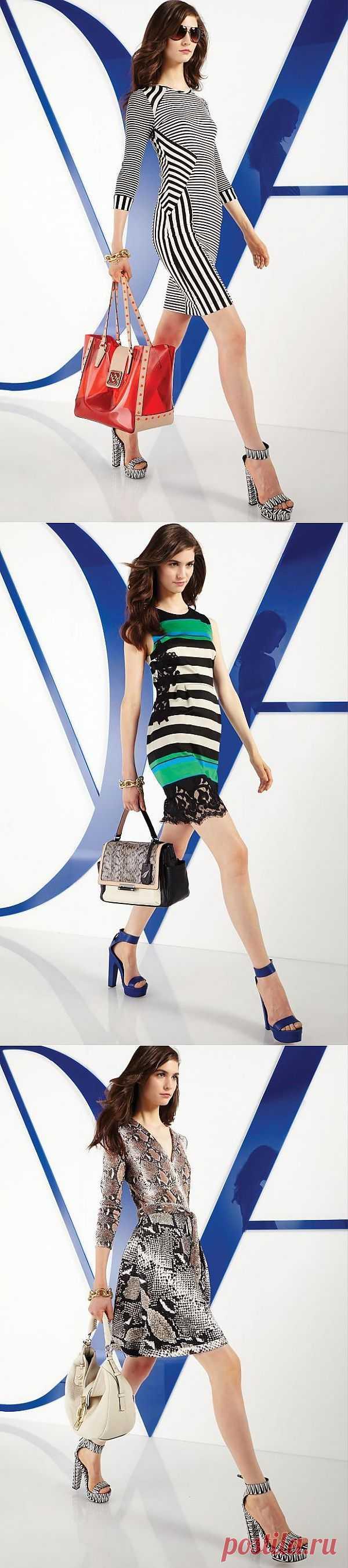 Diane von Furstenberg Resort 14 / Лукбуки / Модный сайт о стильной переделке одежды и интерьера