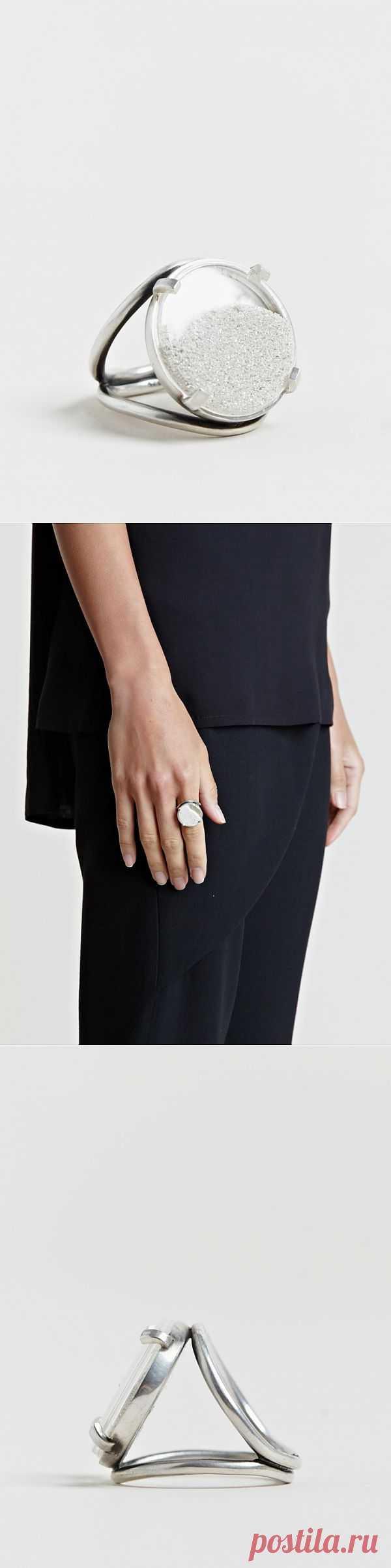 Стальное кольцо Ann Demeulmesteer / Украшения и бижутерия / Модный сайт о стильной переделке одежды и интерьера