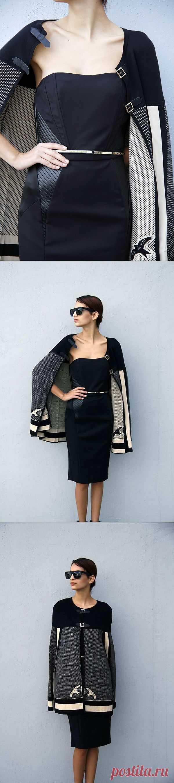 Платье с накидкой от Elisabetta Franchi / Вещь / Модный сайт о стильной переделке одежды и интерьера