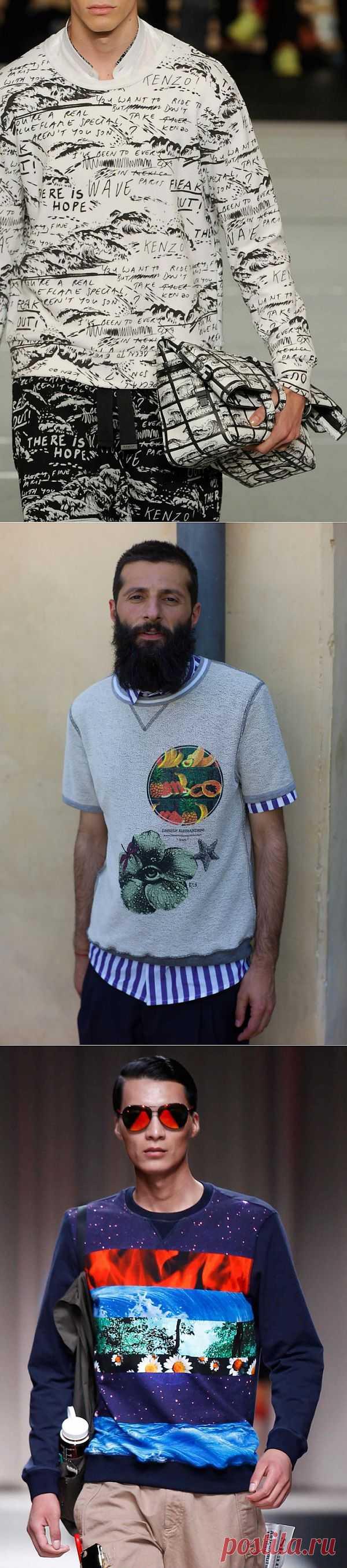 Мужская одежда с креативными рисунками (подборка) / Мужская мода / Модный сайт о стильной переделке одежды и интерьера