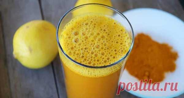 Это то, что происходит с вашим телом, когда вы добавляете куркуму в лимонную воду утром — 🍎 Сад Заготовки