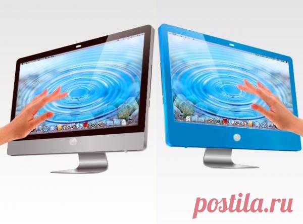 Zorro Macsk (специальная плёнка) превращает экран iMac в тачскрин. Хочу! $250 USD