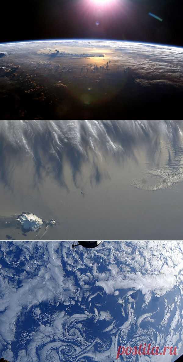 Облака Вид из космоса : НОВОСТИ В ФОТОГРАФИЯХ