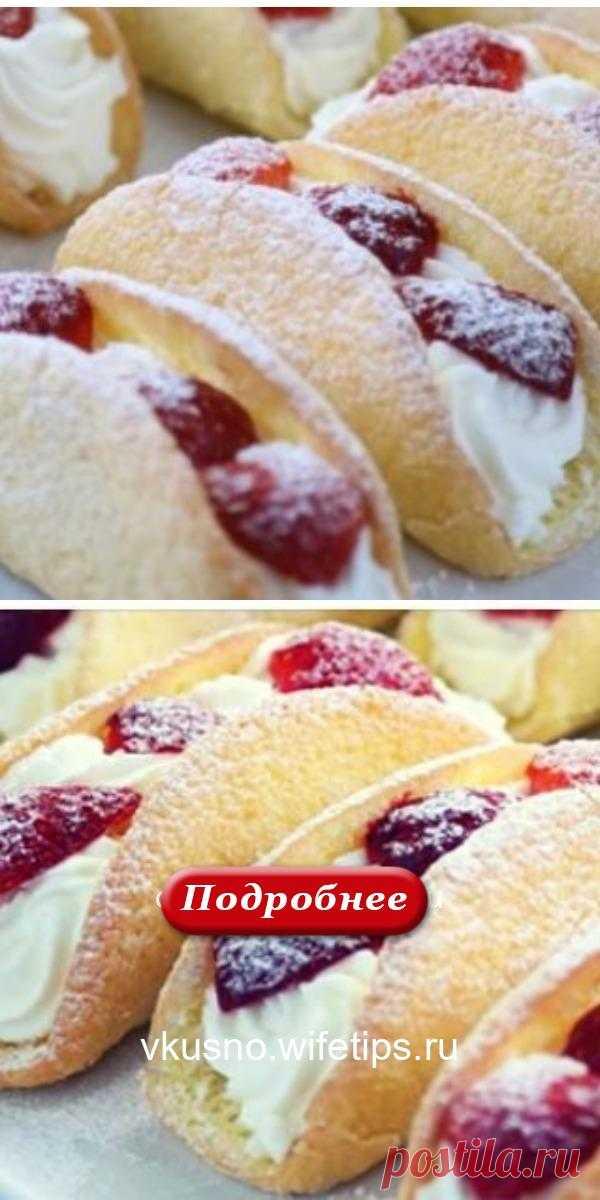 Бисквитные пирожные с клубникой — это моя коронная выпека уже лет 10! - vkusno