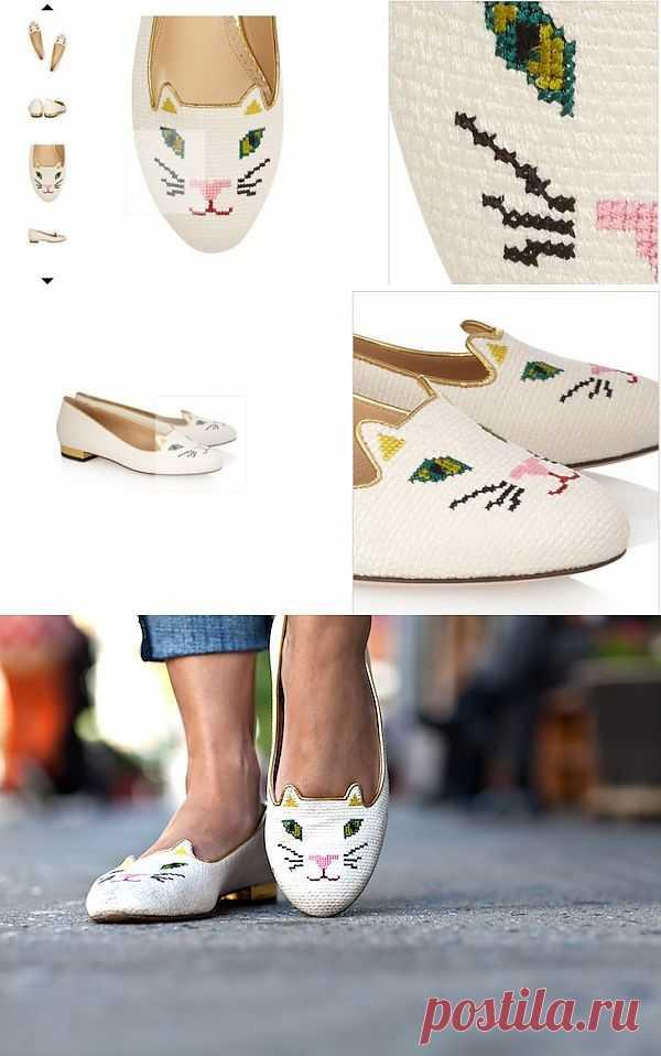 Слипперы Charlotte Olympia - летний вариант / Вещь / Модный сайт о стильной переделке одежды и интерьера