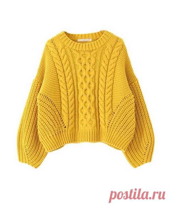 схемы вязания свитеров 2019