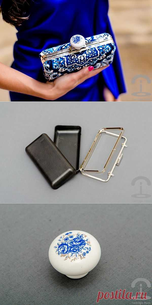 """""""Фарфоровый"""" клатч (Diy) / Сумки, клатчи, чемоданы / Модный сайт о стильной переделке одежды и интерьера"""
