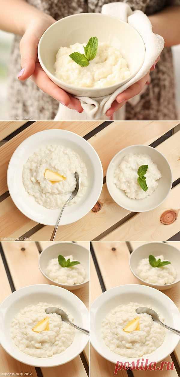Молочная рисовая каша. Каша эта кремовая, сливочная, каждая рисинка мягка, но вместе с тем слегка упруга, что чувствуется, когда вы ее надкусываете, если успеете поймать зубами.