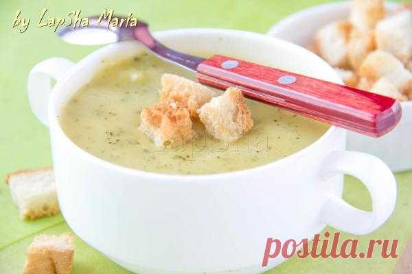 Разукрасим будни вкусом: Нежный крем-суп из цуккини с сыром чеддер. Автор: LapSha
