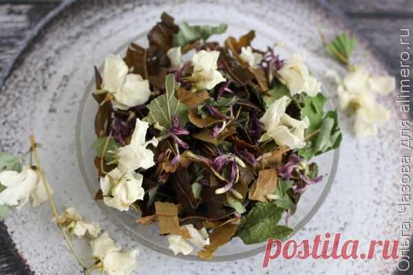 👌 Полезный и вкусный чайный сбор 3, рецепты с фото