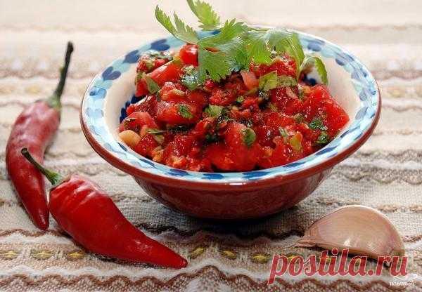 Пико де гальо – салат и соус два в одном