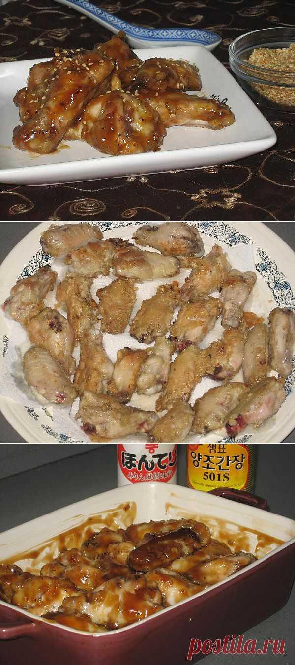 """Крылышки по-шанхайски. До безобразия простое в приготовлении блюдо.Больше популярно в многочисленных """"чайна таунах"""" всего мира чем даже в самом Китае."""