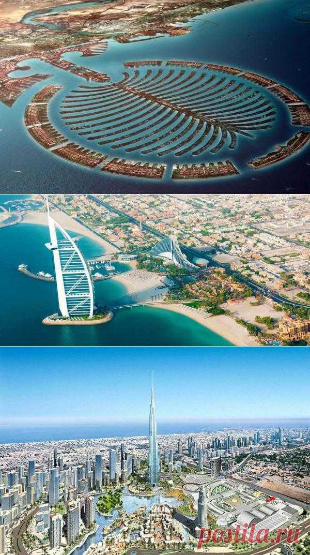Шопинг столица Ближнего Востока. Дубай, ОАЭ