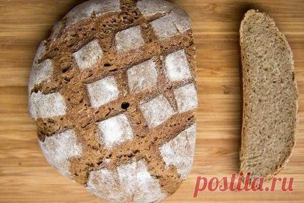 Home-made rye bread
