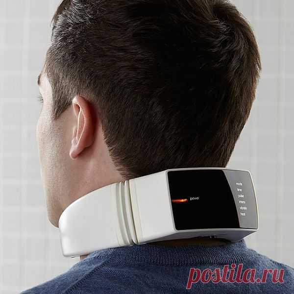 Массажёр для шеи с беспроводным пультом управления. $150