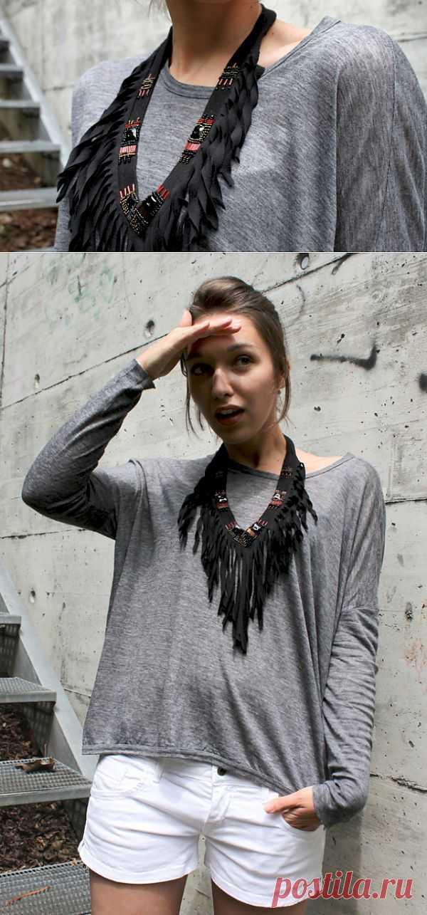 Настоящему индейцу (DIY) / Украшения и бижутерия / Модный сайт о стильной переделке одежды и интерьера