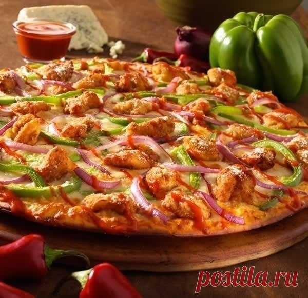 """El cocinero ágil.: la pizza """"Минутка"""""""
