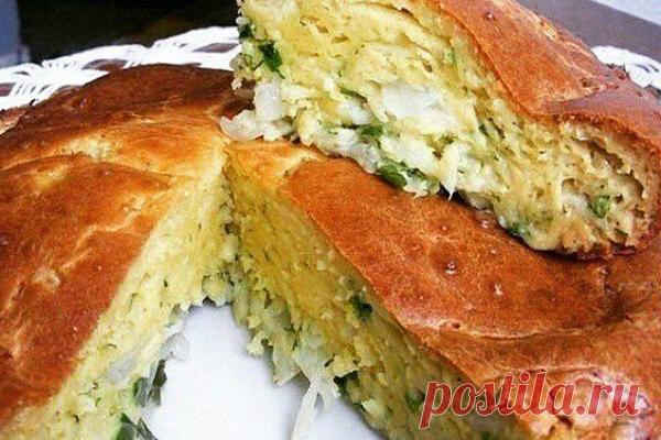 "Заливной пирог ""Минутка"" | кулинарная азбука | Яндекс Дзен"