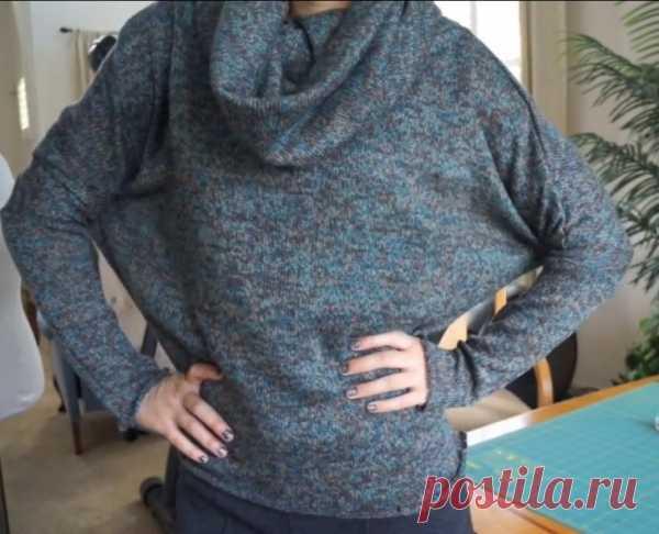 Простая выкройка свитера (DIY) / Простые выкройки / Модный сайт о стильной переделке одежды и интерьера