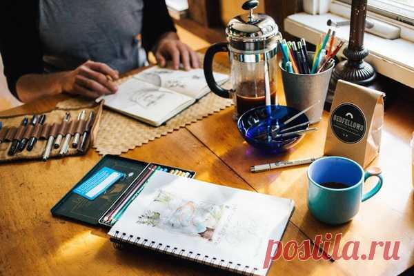 Попить кофейку и обменяться опытом — бесценно