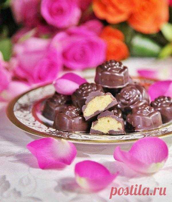 """Шоколадные конфеты с начинкой """"Ирландская весна"""""""