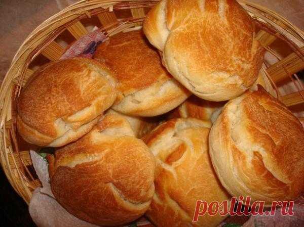 Венские булочки на взбитых белках.