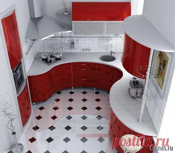 Дизайн кухни 6 кв.м фото. Лучшие варианты   Люблю Себя