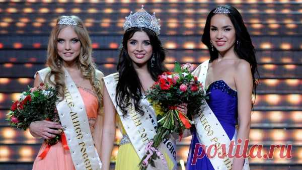 Winners of a competition of Ms. Russia