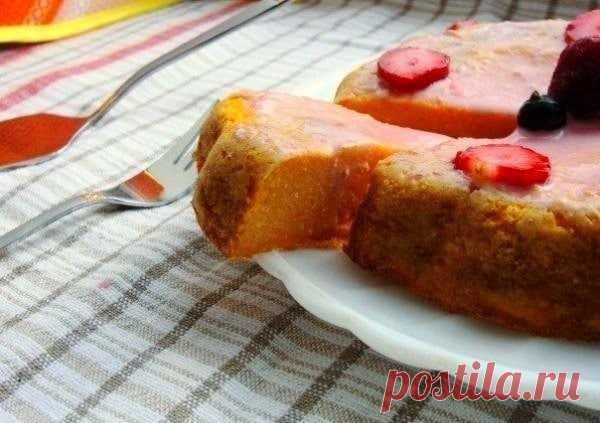 Воздушный пирог из тыквы: легкость в каждом кусочке!