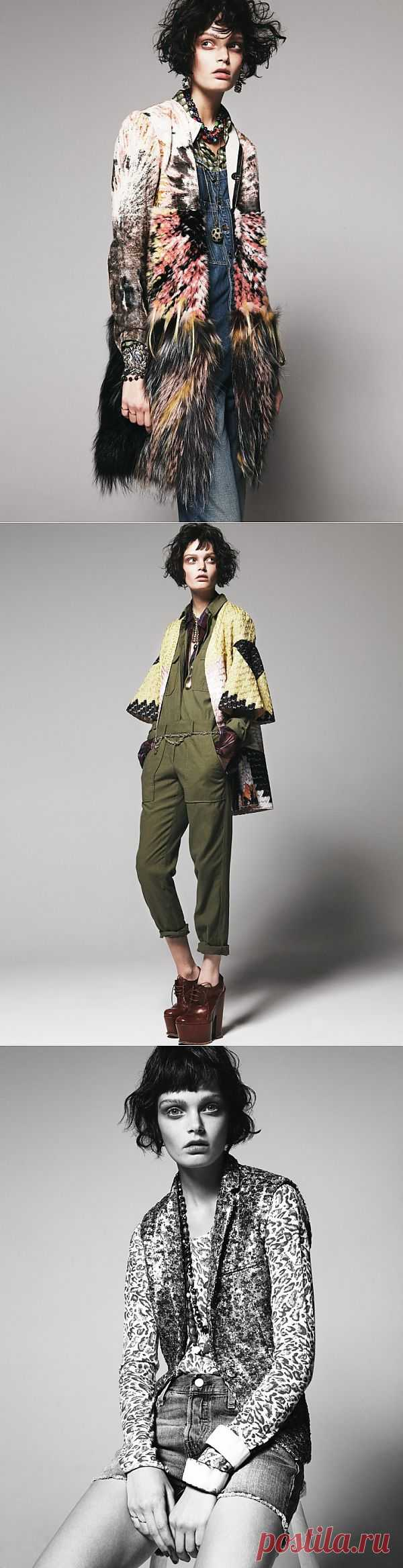 Осторожно: микс! / Обзор журналов / Модный сайт о стильной переделке одежды и интерьера