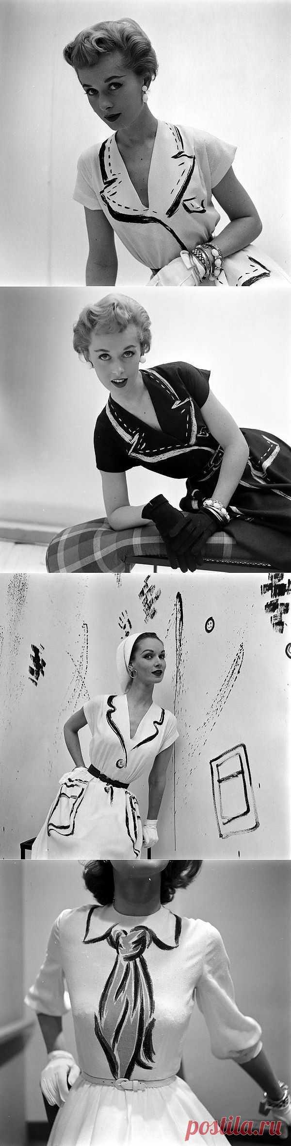 Hermes Paris - привет из 50-х (трафик) / Платья Diy / Модный сайт о стильной переделке одежды и интерьера