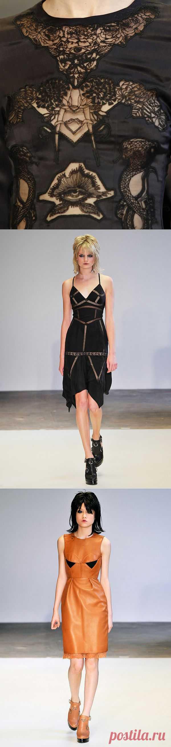 Пять платьев из коллекции Marios Schwab Spring 2011 / Декор / Модный сайт о стильной переделке одежды и интерьера