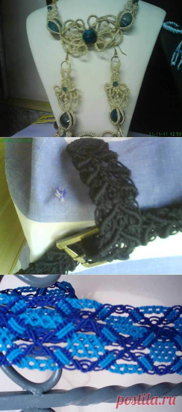 (+1) - Мои изделия. Макраме :) | Хвастуны и хвастушки