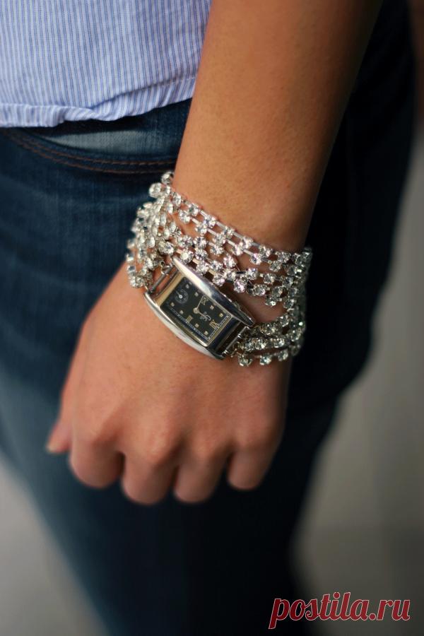Красивый браслет для часов