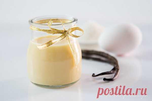 Любопытный повар - Custard Cream/ Creme Anglaise