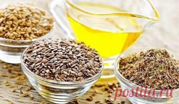 Удивительные свойства льняного масла / Будьте здоровы