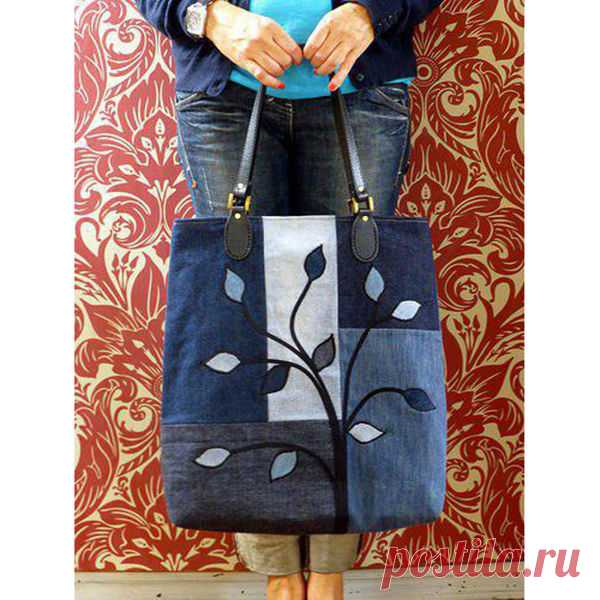 89974c2994df Вторая жизнь джинсов в образе милых сумочек - Ярмарка Мастеров - ручная  работа, handmade