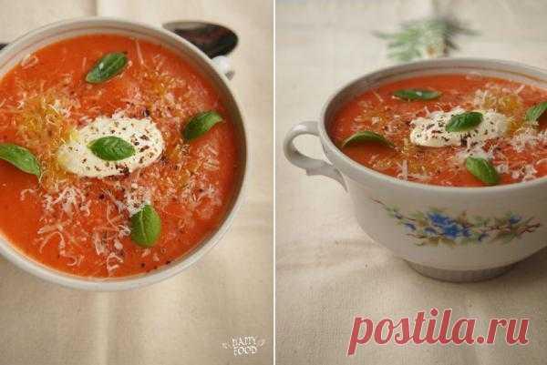 HAPPYFOOD - Суп-пюре из сладкого перца