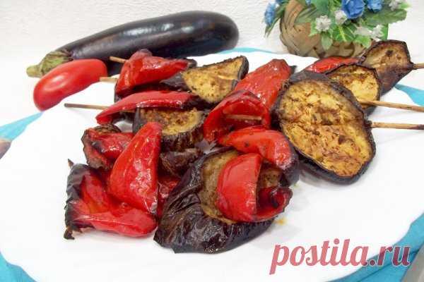 Вегетарианский овощной шашлык в духовке   CityWomanCafe.com